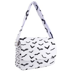 Bats Pattern Courier Bag by Sobalvarro