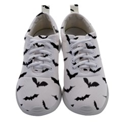 Bats Pattern Women Athletic Shoes by Sobalvarro