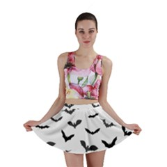 Bats Pattern Mini Skirt by Sobalvarro