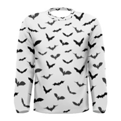 Bats Pattern Men s Long Sleeve Tee by Sobalvarro