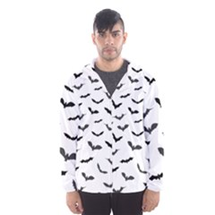 Bats Pattern Men s Hooded Windbreaker by Sobalvarro