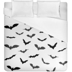 Bats Pattern Duvet Cover (king Size) by Sobalvarro