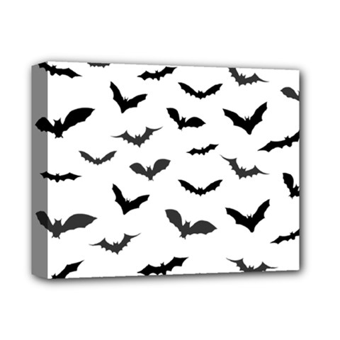 Bats Pattern Deluxe Canvas 14  X 11  (stretched) by Sobalvarro