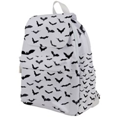 Bats Pattern Top Flap Backpack by Sobalvarro