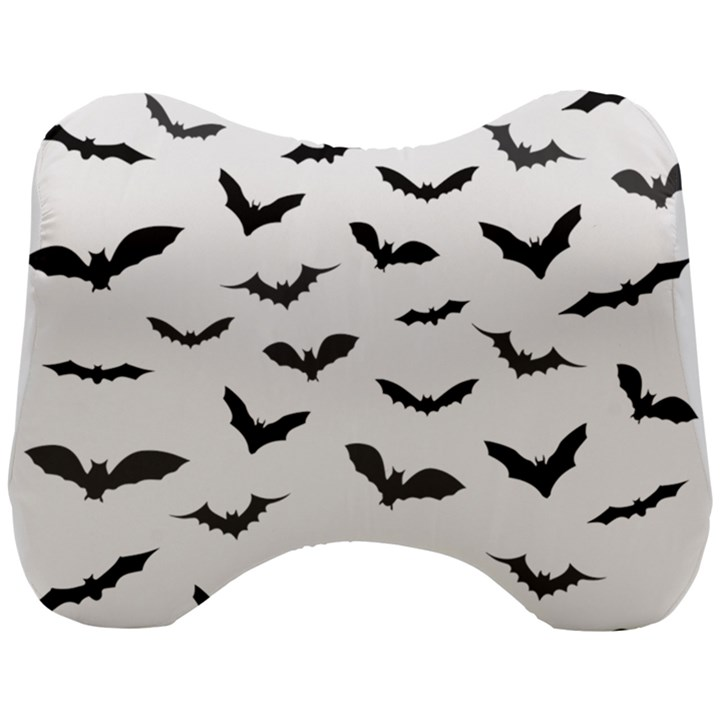Bats Pattern Head Support Cushion