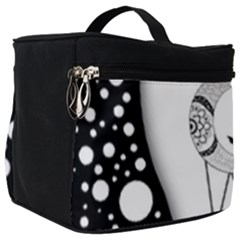 Wonderful Moon With Black Wolf Make Up Travel Bag (big)