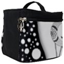 Wonderful Moon With Black Wolf Make Up Travel Bag (Big) View1