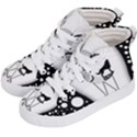 Wonderful Moon With Black Wolf Kids  Hi-Top Skate Sneakers View2