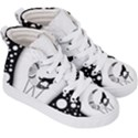 Wonderful Moon With Black Wolf Kids  Hi-Top Skate Sneakers View3