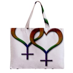 Mrs  And Mrs  Mini Tote Bag by LiveLoudGraphics