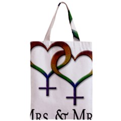 Mrs  And Mrs  Classic Tote Bag