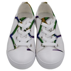 Mrs  And Mrs  Kids  Low Top Canvas Sneakers