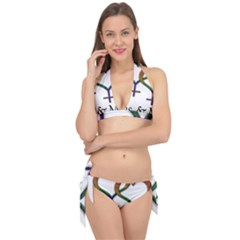 Mrs  And Mrs  Tie It Up Bikini Set