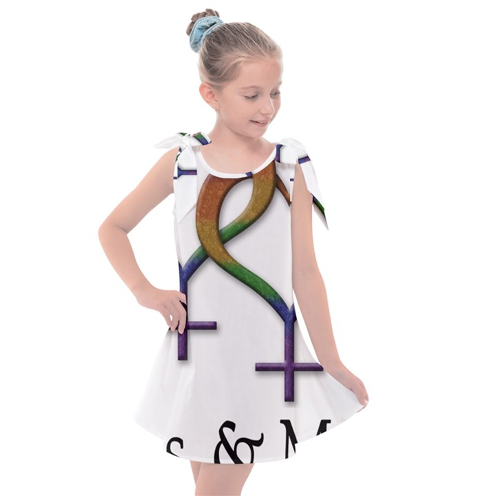 Mrs. and Mrs. Kids  Tie Up Tunic Dress