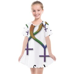 Mrs  And Mrs  Kids  Smock Dress by LiveLoudGraphics