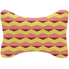 Background Colorful Chevron Seat Head Rest Cushion