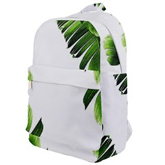 Green Banana Leaves Classic Backpack by goljakoff