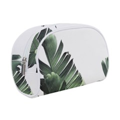 Green Banana Leaves Makeup Case (small) by goljakoff