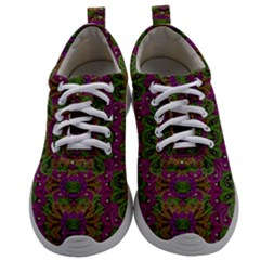Peacock Lace In The Nature Mens Athletic Shoes