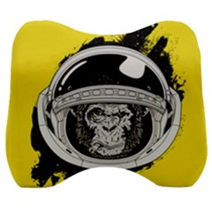 Spacemonkey Velour Head Support Cushion by goljakoff