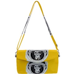 Spacemonkey Removable Strap Clutch Bag