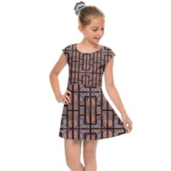 Ab 71 Kids  Cap Sleeve Dress by ArtworkByPatrick