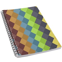 Retro Rhombs 5 5  X 8 5  Notebook by goljakoff