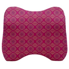 Background Texture Pattern Mandala Velour Head Support Cushion