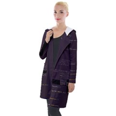 Apache Spark s Rdd Scala Glitch Code Hooded Pocket Cardigan by HoldensGlitchCode