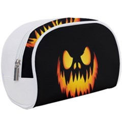 Evil Pumpkin Makeup Case (large) by goljakoff