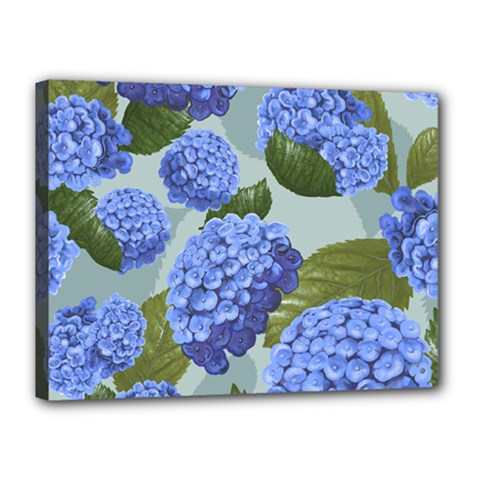 Hydrangea  Canvas 16  X 12  (stretched) by Sobalvarro