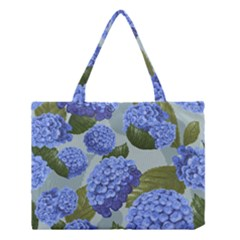 Hydrangea  Medium Tote Bag by Sobalvarro