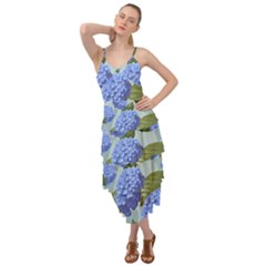 Hydrangea  Layered Bottom Dress by Sobalvarro
