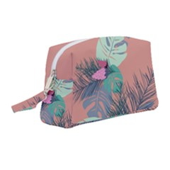Leaves Wristlet Pouch Bag (medium)