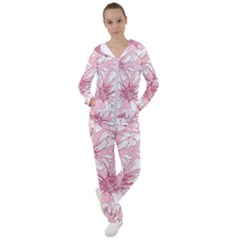 Pink Flowers Women s Tracksuit by Sobalvarro