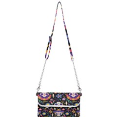Dia De Los Muertos Mini Crossbody Handbag by Sobalvarro