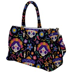 Dia De Los Muertos Duffel Travel Bag by Sobalvarro