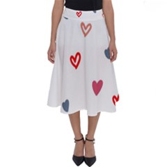 ? Pattern  Perfect Length Midi Skirt