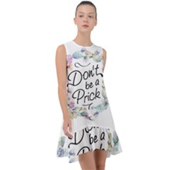 Dont Be A Prick Frill Swing Dress by goljakoff