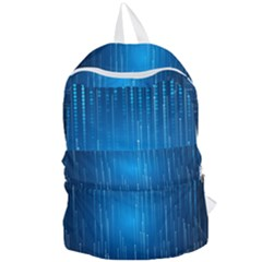Abstract Rain Space Foldable Lightweight Backpack