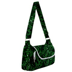 Abstract Plaid Green Multipack Bag