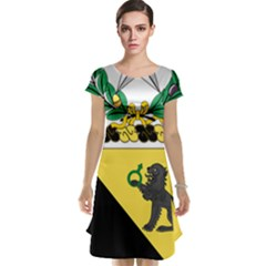 Coat Of Arms Of United States Army 124th Cavalry Regiment Cap Sleeve Nightdress by abbeyz71