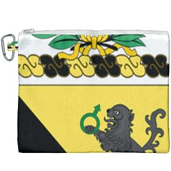 Coat Of Arms Of United States Army 124th Cavalry Regiment Canvas Cosmetic Bag (xxxl)