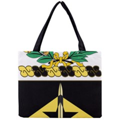 Coat Of Arms Of United States Army 49th Finance Battalion Mini Tote Bag