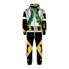 Coat Of Arms Of United States Army 49th Finance Battalion Hooded Jumpsuit (kids)