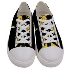 Coat Of Arms Of United States Army 49th Finance Battalion Women s Low Top Canvas Sneakers
