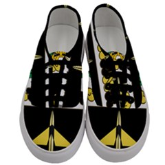 Coat Of Arms Of United States Army 49th Finance Battalion Men s Classic Low Top Sneakers
