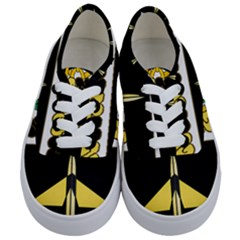 Coat Of Arms Of United States Army 49th Finance Battalion Kids  Classic Low Top Sneakers