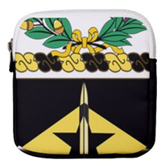 Coat Of Arms Of United States Army 49th Finance Battalion Mini Square Pouch