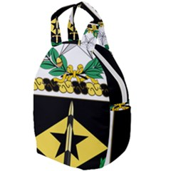Coat Of Arms Of United States Army 49th Finance Battalion Travel Backpacks